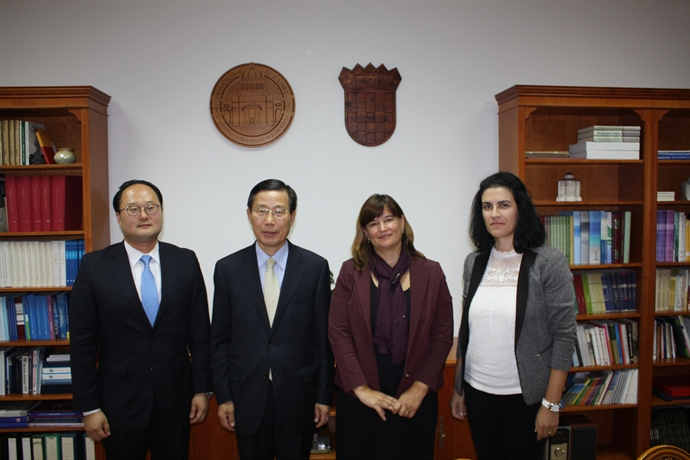Inagural visit of the  Ambassador of the Republic of Korea His Excellency Park Won-sup