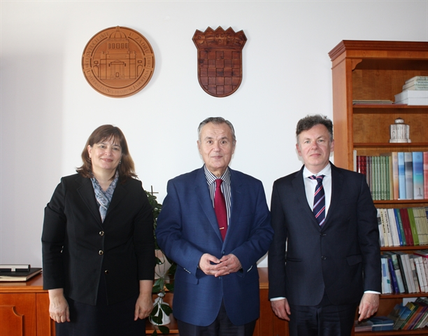 Inaugural Visit of Romanian Ambassador to the University of Zadar