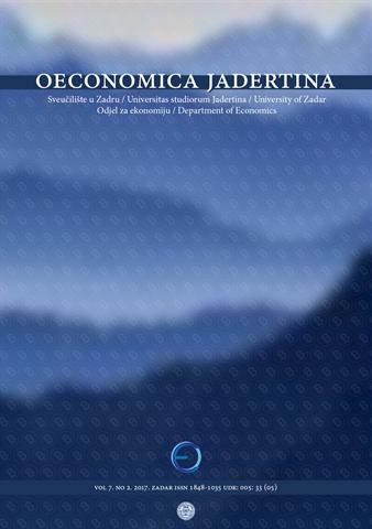 Novi broj časopisa Oeconomica Jadertina