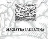 """Magistra Iadertina"""
