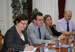Visit of His Excellency Philippe Meunier, Ambassador of the French Republic, to the University of Zadar